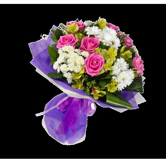 """Букет цветов """"Трепетное сердце"""""""
