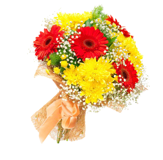 "Букет цветов ""Яркий комплимент"""