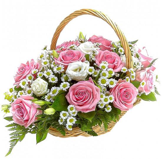 "Корзина цветов ""Золушка"""