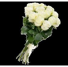 15 белых роз (импорт)