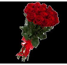 15 красных роз (импорт)