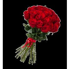 25 красных роз (импорт)
