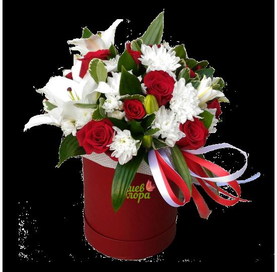 """Коробка с цветами """"Танго"""""""