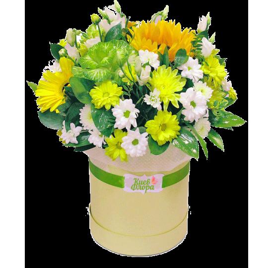 "Коробка с цветами ""Тропики"""