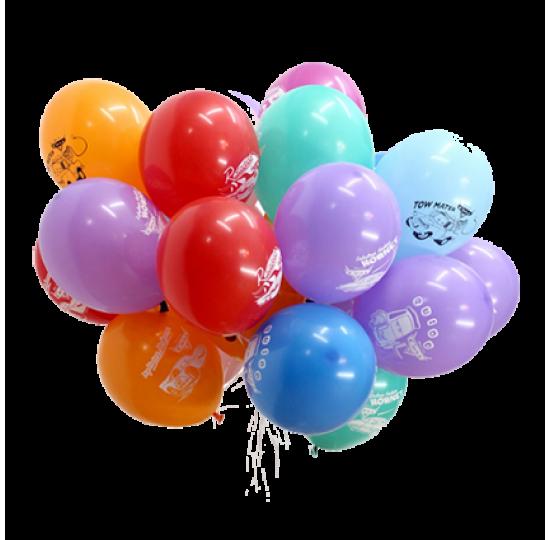 21 гелиевых шариков с надписью