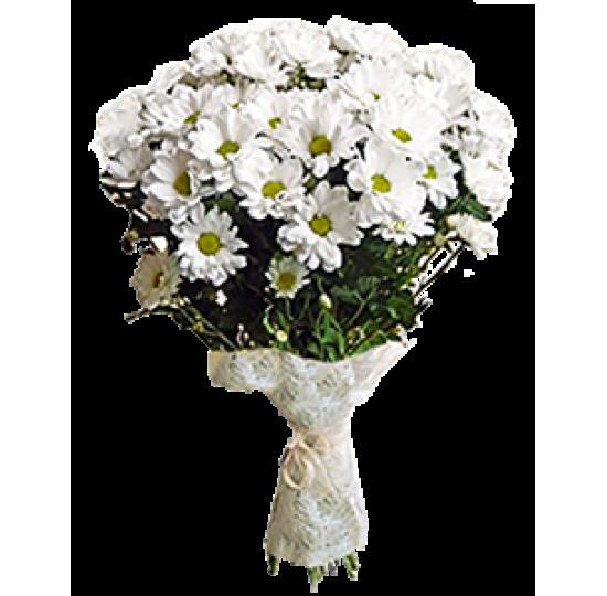 """Букет цветов """"Белая нежность"""""""