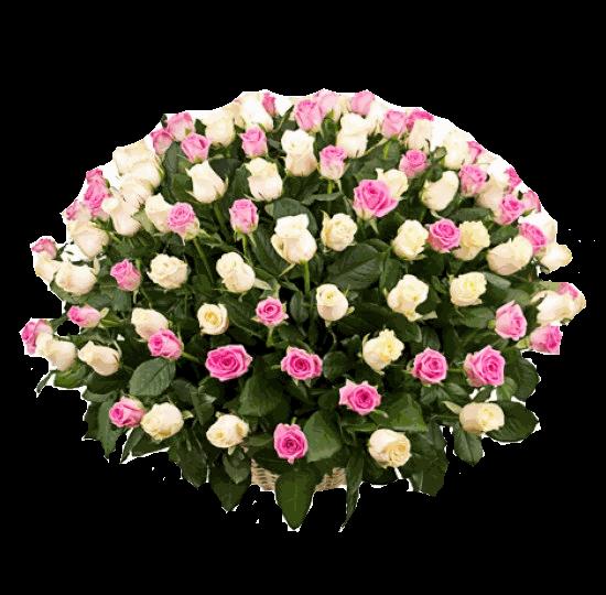 """Букет из роз """"Чистые чувства"""""""