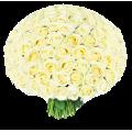 101 белая роза Доставка цветов Киев. Заказ цветов Киев.