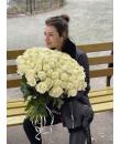 "Букет ""101 белая роза"""