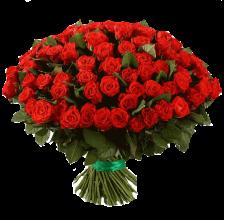 101 красная роза Эль-Торо Доставка цветов Киев. Заказ цветов Киев.