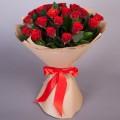 25 красных  роз Эль Торо