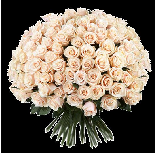 """Букет """"151 кремовая роза"""""""