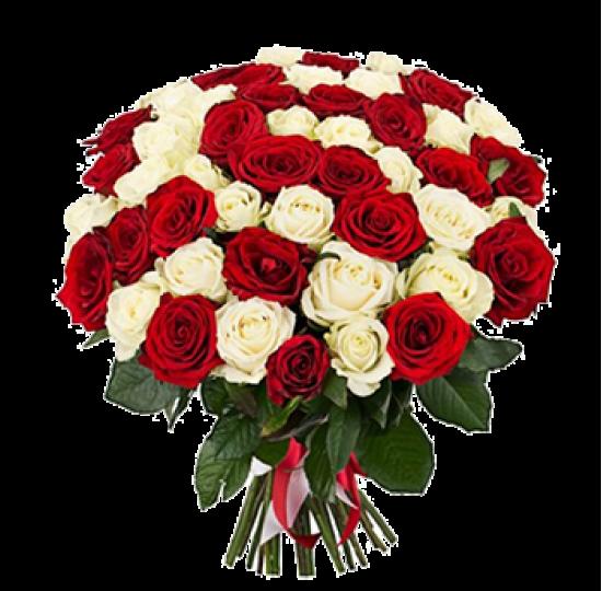 """Букет из роз """"Карнавал любви"""""""