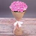 """Букет из розовых  роз """"Романтика"""""""