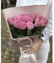 """25 розовых роз """"Арамис"""""""