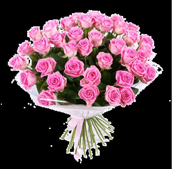 """Букет из розовых роз """"Арамис"""""""