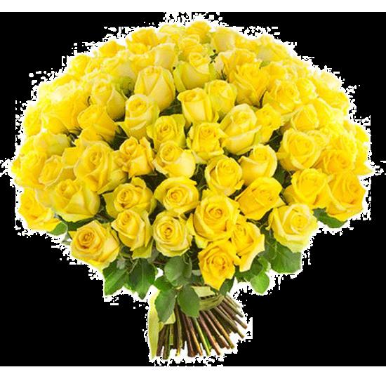"""Букет """"101 жёлтая роза"""""""