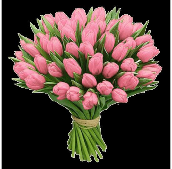"""Букет тюльпанов """"Розовый сон"""""""