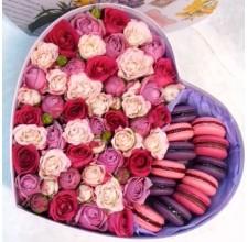 """Коробка с цветами """" Прованс """""""