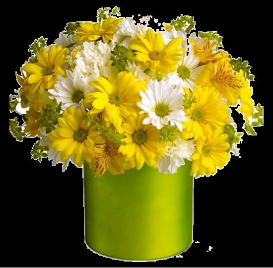 """Коробка с цветами """"Крылья Ангела"""""""